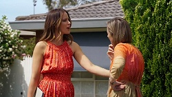 Elly Conway, Sonya Rebecchi in Neighbours Episode 8038