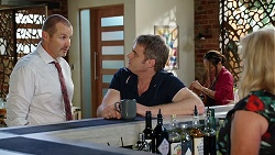 Toadie Rebecchi, Gary Canning, Sheila Canning in Neighbours Episode 8038