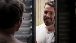 Ned Willis, Heath Kabel in Neighbours Episode 8039