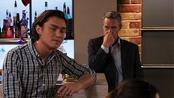 Leo Tanaka, Paul Robinson in Neighbours Episode 8039