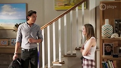Leo Tanaka, Piper Willis in Neighbours Episode 8040