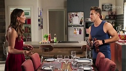 Elly Conway, Aaron Brennan in Neighbours Episode 8040