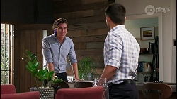 Leo Tanaka, David Tanaka in Neighbours Episode 8041