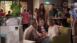Toadie Rebecchi, Callum Rebecchi, Dipi Rebecchi, Sonya Rebecchi, Shane Rebecchi in Neighbours Episode 8044