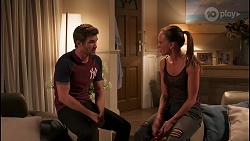 Ned Willis, Bea Nilsson in Neighbours Episode 8044