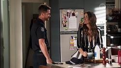 Mark Brennan, Elly Conway in Neighbours Episode 8044