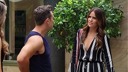 Aaron Brennan, Elly Conway in Neighbours Episode 8045