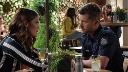 Elly Conway, Mark Brennan in Neighbours Episode 8045