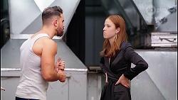 Heath Kabel, Melissa Lohan in Neighbours Episode 8046
