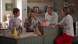 Susan Kennedy, Terese Willis, Karl Kennedy, Sonya Rebecchi in Neighbours Episode 8046