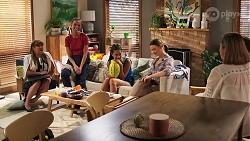 Terese Willis, Bea Nilsson, Yashvi Rebecchi, Amy Williams, Sonya Rebecchi in Neighbours Episode 8047