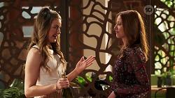 Chloe Brennan, Melissa Lohan in Neighbours Episode 8047
