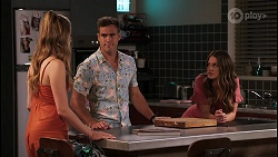 Chloe Brennan, Aaron Brennan, Elly Conway in Neighbours Episode 8051
