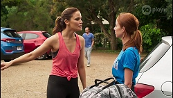 Elly Conway, Melissa Lohan in Neighbours Episode 8051