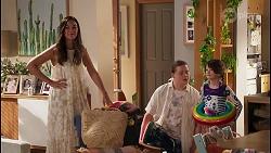 Jade Mitchell, Callum Rebecchi, Nell Rebecchi in Neighbours Episode 8051