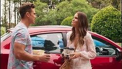 Aaron Brennan, Elly Conway in Neighbours Episode 8051