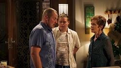 Karl Kennedy, Callum Rebecchi, Susan Kennedy in Neighbours Episode 8053