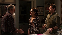 Karl Kennedy, Dipi Rebecchi, Shane Rebecchi in Neighbours Episode 8053