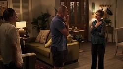 Callum Rebecchi, Karl Kennedy, Susan Kennedy in Neighbours Episode 8053