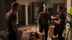Mark Brennan, Karl Kennedy, Aaron Brennan in Neighbours Episode 8053