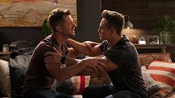 Mark Brennan, Aaron Brennan in Neighbours Episode 8053