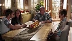 Ned Willis, Bea Nilsson, Karl Kennedy, Susan Kennedy in Neighbours Episode 8054