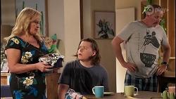 Sheila Canning, Callum Rebecchi, Toadie Rebecchi in Neighbours Episode 8054