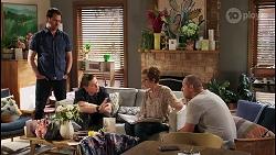 Shane Rebecchi, Callum Rebecchi, Susan Kennedy, Toadie Rebecchi in Neighbours Episode 8054