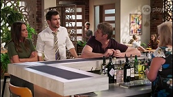 Bea Nilsson, Ned Willis, Gary Canning, Sheila Canning in Neighbours Episode 8054