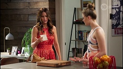 Elly Conway, Chloe Brennan in Neighbours Episode 8054