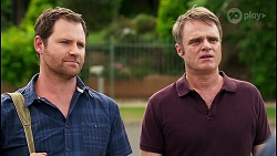 Shane Rebecchi, Gary Canning in Neighbours Episode 8054