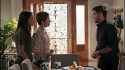 Bea Nilsson, Susan Kennedy, David Tanaka in Neighbours Episode 8054