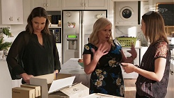 Amy Williams, Sheila Canning, Piper Willis in Neighbours Episode 8055