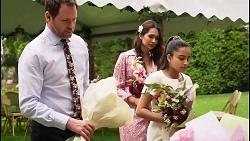 Shane Rebecchi, Dipi Rebecchi, Kirsha Rebecchi in Neighbours Episode 8056