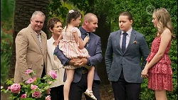 Karl Kennedy, Susan Kennedy, Nell Rebecchi, Toadie Rebecchi, Callum Rebecchi, Willow Somers in Neighbours Episode 8056