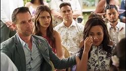 Lucas Fitzgerald, Elly Conway, Aaron Brennan, Vanessa Villante, David Tanaka in Neighbours Episode 8056