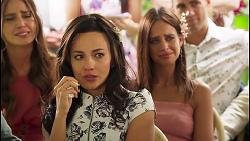 Elly Conway, Vanessa Villante, Bea Nilsson, Aaron Brennan in Neighbours Episode 8056
