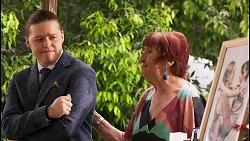 Callum Rebecchi, Angie Rebecchi in Neighbours Episode 8056