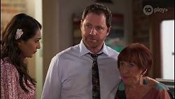 Dipi Rebecchi, Shane Rebecchi, Angie Rebecchi in Neighbours Episode 8056
