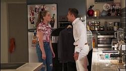 Chloe Brennan, Aaron Brennan in Neighbours Episode 8058