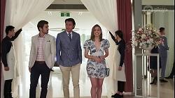 Ned Willis, Leo Tanaka, Piper Willis in Neighbours Episode 8058