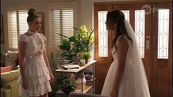 Chloe Brennan, Elly Conway in Neighbours Episode 8058