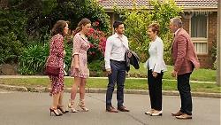 Fay Brennan, Amy Williams, David Tanaka, Susan Kennedy, Karl Kennedy in Neighbours Episode 8059