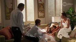 Karl Kennedy, Susan Kennedy, Elly Brennan, Bea Nilsson in Neighbours Episode 8059