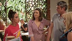 Bea Nilsson, Amy Williams, Gary Canning, Sheila Canning in Neighbours Episode 8059