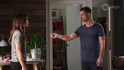 Elly Brennan, Mark Brennan in Neighbours Episode 8060