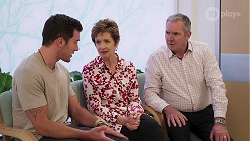 Shaun Watkins, Susan Kennedy, Karl Kennedy in Neighbours Episode 8060