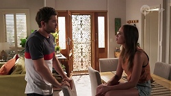 Ned Willis, Bea Nilsson in Neighbours Episode 8060