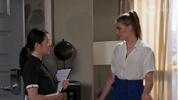 Rachel Chen, Chloe Brennan in Neighbours Episode 8060