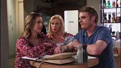 Amy Williams, Sheila Canning, Gary Canning in Neighbours Episode 8061